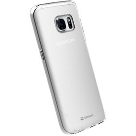 Krusell Kivik Cover for the Samsung S7 Edge - Transparent/Clear