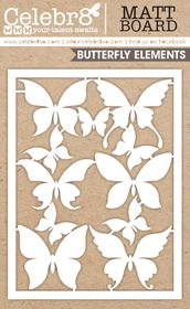 Celebr8 Matt Board Equi - Butterfly Card