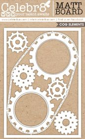 Celebr8 Matt Board Maxi - Gear Mechanism