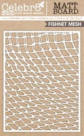 Celebr8 Matt Board Equi - Fishing Net