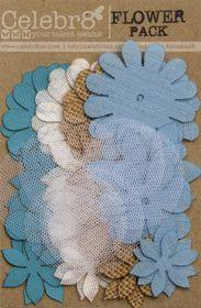 Celebr8 Flower Pack - Blue