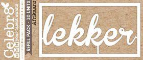 Celebr8 Loosies - Lekker