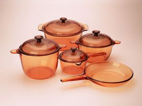 Visions - 9 Piece Cookware Set - Amber