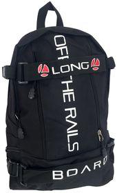 Longboard Senior Off The Rails Backpack - Black