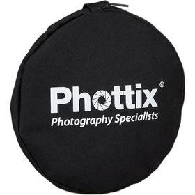 Phottix 5-in-1 Premium Circular Reflector with Handles 107cm
