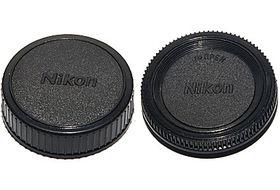 Phottix Body and Rear Lens Cap for Nikon DSLR