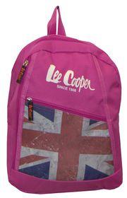 Lee Cooper Flag Backpack-Pink