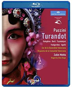 Turandot: Palau De Les Arts Valencia (Mehta) (Blu-Ray)