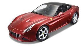 Maisto 1/24 Ferrari California Closede Top (Kit) in Red