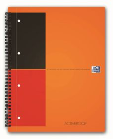 Oxford International A4 - Ruled Active Book
