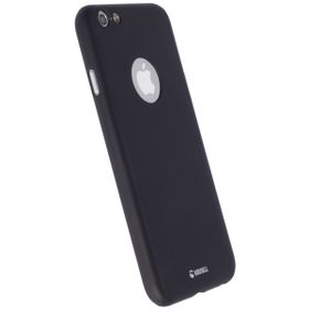 Krusell Arvika Cover for Apple iPhone 6/6S - Black (Includes Glass Screen Protector)