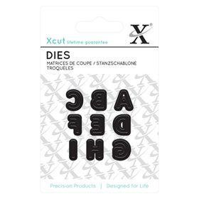 Xcut Mini Dies - Alphas Pattern 1