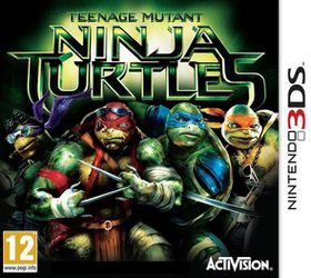Teenage Mutant Ninja Turtles The Movie (3DS)
