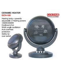 Goldair Ceramic Heater - Black