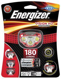 Energizer - Vision HD Headlight 180 Lumens - Red