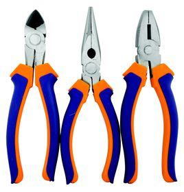 Fragram - 3 Piece Plier Set 150mm - Blue