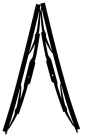 Fragram - Wiper Blades 15 inch Per Pair - Black