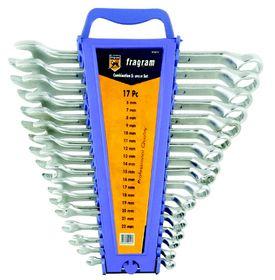 Fragram - Spanner Comb Set 6-22mm - 17 Piece