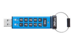 Kingston DataTraveler 2000 USB 3.0 Secure Flash Drive - 32GB
