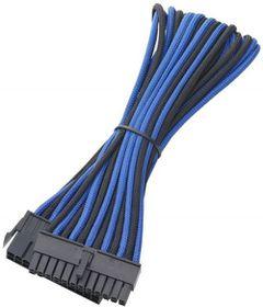 BitFenix Tri Tone Blue / Black / Blue ATX 24-Pin 45cm Extender Cable