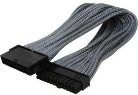 BitFenix Dual Tone Silver / Black ATX 24-Pin 45cm Extender Cable