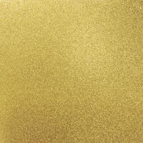 Kaisercraft 12 x 12 Glitter Cardstock - Golden (5 Sheets)