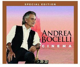 Andrea Bocelli- Cinema (CD + DVD )