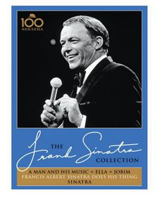 Frank Sinatra- A Man And His Music + Ella + Jobim  (DVD)