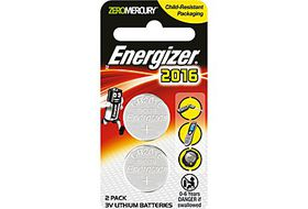 Energizer Lithium Coin 3v CR2016