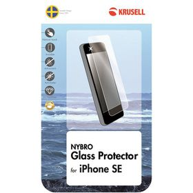 Krusell Nybro Glass Screen Protector for iPhone SE - Clear