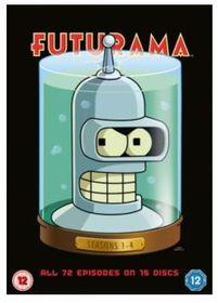 Futurama: Seasons 1-4 (DVD)