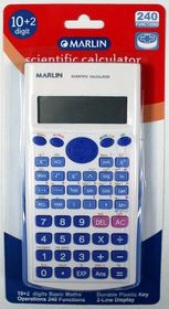 Marlin Scientific Calculator 10+2 Digit
