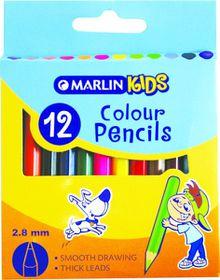 Marlin Kids 12 Short Colour Pencils