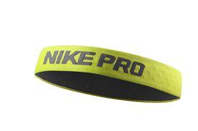 Nike Pro Headband - Black/Lime