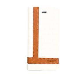 Astrum Tee Pro Galaxy S6 Edge Flip Cover - MC600 White