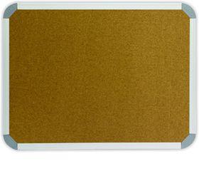 Parrot Info Board Aluminium Frame - Cork (900 x 600mm)