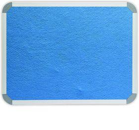 Parrot Info Board Aluminium Frame - Sky Blue Felt (900 x 900mm)