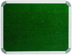 Parrot Info Board Aluminium Frame - Green Felt (1200 x 900mm)