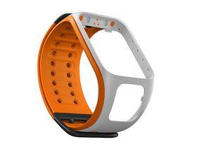 TomTom Watch Strap - Light Grey/Bright Orange (L)