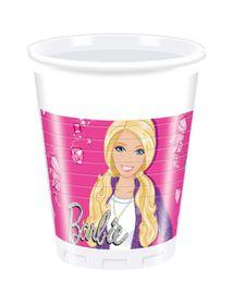 Barbie Sparkle Plastic Cups