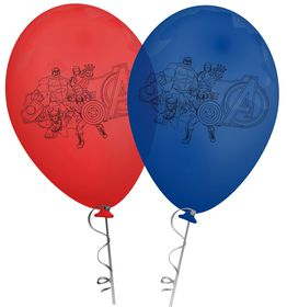 Marvel Avengers Latex Balloons