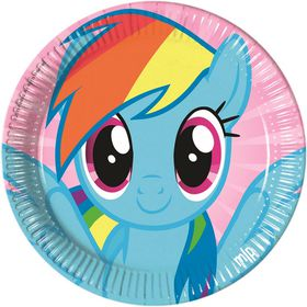 My Little Pony Rainbow Pony Paper Plates