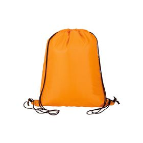 Eco Lightweight Drawstring Bag - Orange
