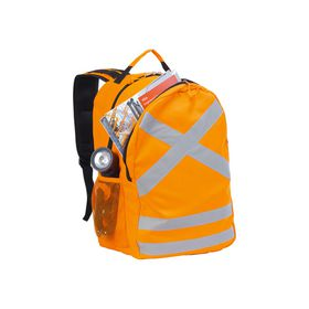 Eco Reflective Safety Backpack - Orange