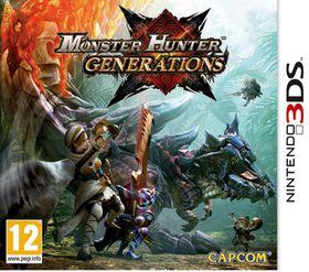 3DS Monster Hunter Generations
