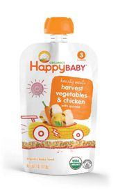 Happy - Baby Grab and Go Meal Harvest Veg - Chicken and Quinoa - 113g