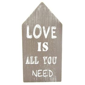 Pamper Hamper Wood Decor Love Is All You Need