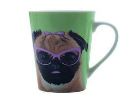 Maxwell and Williams - Christopher Vine The Mob Mug Pug - 420ml