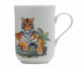 Maxwell & Williams Cashmere Animals Of The World Mug Tiger - 300ml