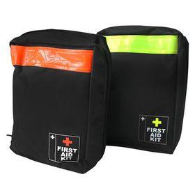 Eco - First Aid Kit Bag - Black & Lime
